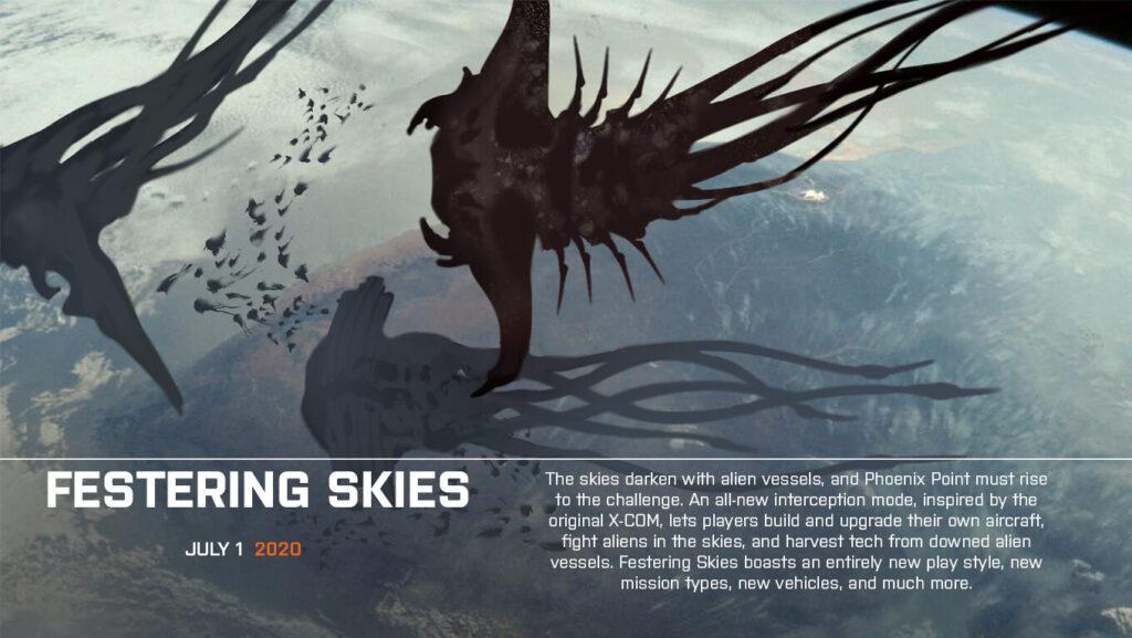 Snapshot Games раскрыли информацию о контенте трёх DLC для Phoenix Point, которые постепенно будут дополнять контент игры новыми механиками и миссиями после её релиза.
